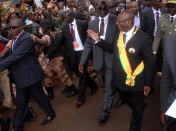Le président IBK le jour de son investiture. Photo web